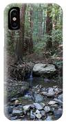 Corte Madera Creek On Mt. Tam In 2008 IPhone Case