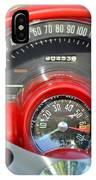 Corvette Dashboard IPhone Case