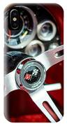 Corvette Steering Wheel IPhone Case