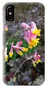 Corydalis In Garden IPhone Case