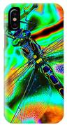Cosmic Dragonfly Art 1 IPhone Case