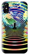 Cosmic Spiral Ascension 16 IPhone Case