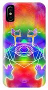 Cosmic Spiral Ascension 17 IPhone Case