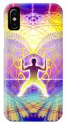 Cosmic Spiral Ascension 20 IPhone Case