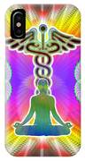 Cosmic Spiral Ascension 21 IPhone Case