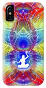 Cosmic Spiral Ascension 56 IPhone Case