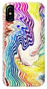 Cosmic Waves Vertical IPhone Case