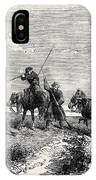 Cossacks Skirmishing IPhone Case