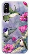 Costa Hummingbird Family IPhone Case
