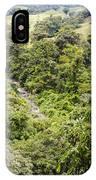 Costa Rica Zip Line View IPhone Case