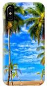 Costa Rican Paradise IPhone Case