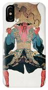 Costume Design For A Chinaman IPhone Case
