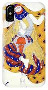 Costume Design For A Dancer IPhone Case