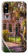 Cottage At The Church In Giethoorn. Netherlands IPhone Case