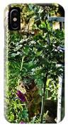 Cottage Bird Garden IPhone Case