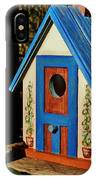 Cottage Birdhouse IPhone Case
