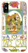 Cottage Garden IPhone Case