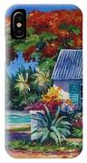 Cottage On 7-mile Beach IPhone Case