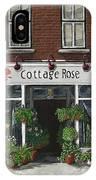 Cottage Rose IPhone Case