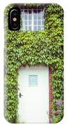 Cottage With Ivy IPhone Case