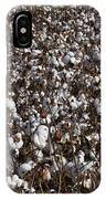 Cotton By The Acre In Limestone County IPhone Case