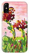 Cotton Candy Flowers IPhone Case