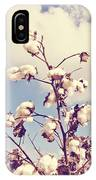 Cotton In The Sky With Filter IPhone Case