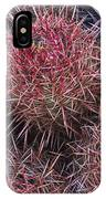 Cotton-top Cactus Detail IPhone Case