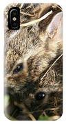 Cottontail Kits IPhone Case