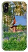 Cottonwood Cottage Spring 2014 Photographs Taken By Omaste Witko IPhone Case