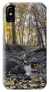 Cottonwood Creek Near Deer Lodge Montana IPhone X Case