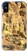 Cottonwood Yellow Towers IPhone Case
