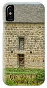 Council Grove Kansas Stone Barn IPhone Case