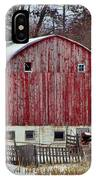 Country Barn 3 IPhone Case