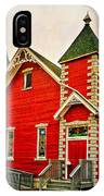 Country Church Paint IPhone Case