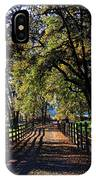 Country Drive IPhone Case