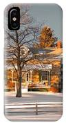 Country Home IPhone Case