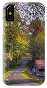 Country Lanes IPhone Case