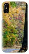 Country Road In Tennessee IPhone Case