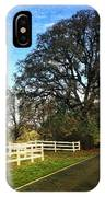 Country Road On Sauvie Island IPhone Case