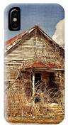 Country Schoolhouse  IPhone Case