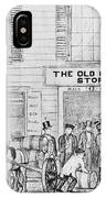 Country Store, 1847 IPhone Case