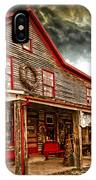 Country Store Washington Town Ky IPhone Case