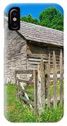 Country Weathered Barn IPhone Case
