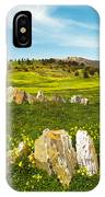 Countryside With Stones IPhone Case