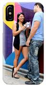 Couple Talking IPhone Case