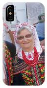 Couples In Polish National Costumes IPhone Case