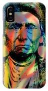 Courage Chief Joseph IPhone Case