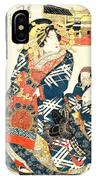 Courtesan Tsukasa 1828 IPhone Case