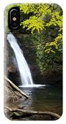 Courthouse Falls In North Carolina IPhone Case